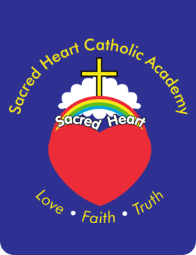 Sacred Heart Catholic Voluntary Academy logo
